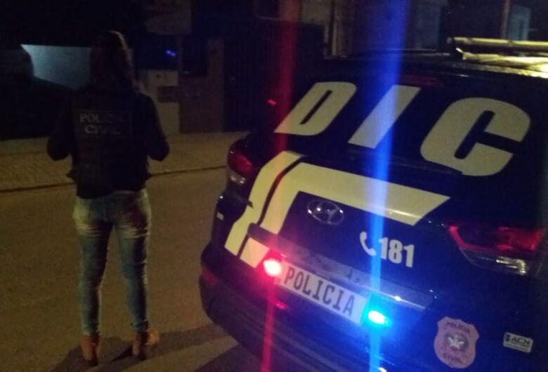 Integrantes de organização criminosa são presos em operação da Polícia Civil