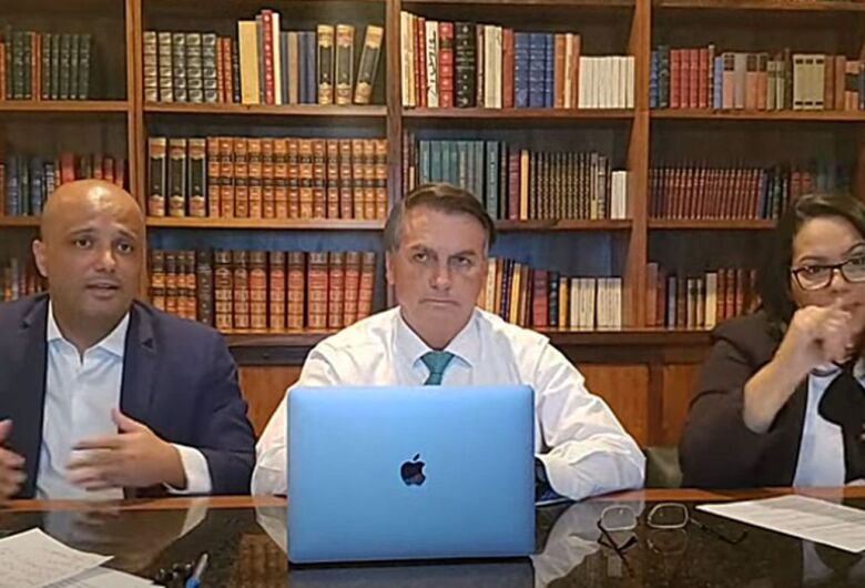 """Ida para novo partido está """"bastante avançada"""", diz Bolsonaro"""