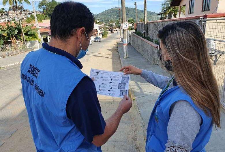 Guaramirim confirma mais um caso de dengue com transmissão local