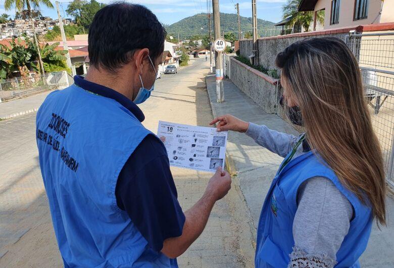 Guaramirim segue com orientações visando o combate da dengue