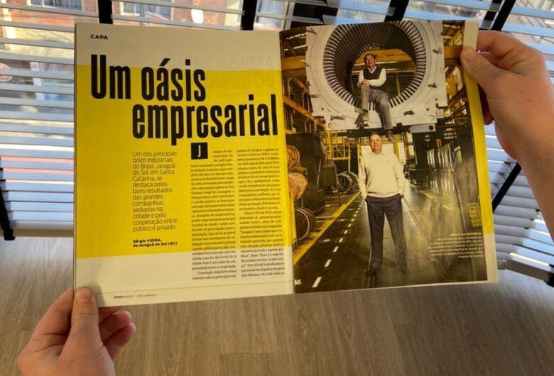 Isto é Dinheiro destaca Jaraguá do Sul como modelo para o Brasil