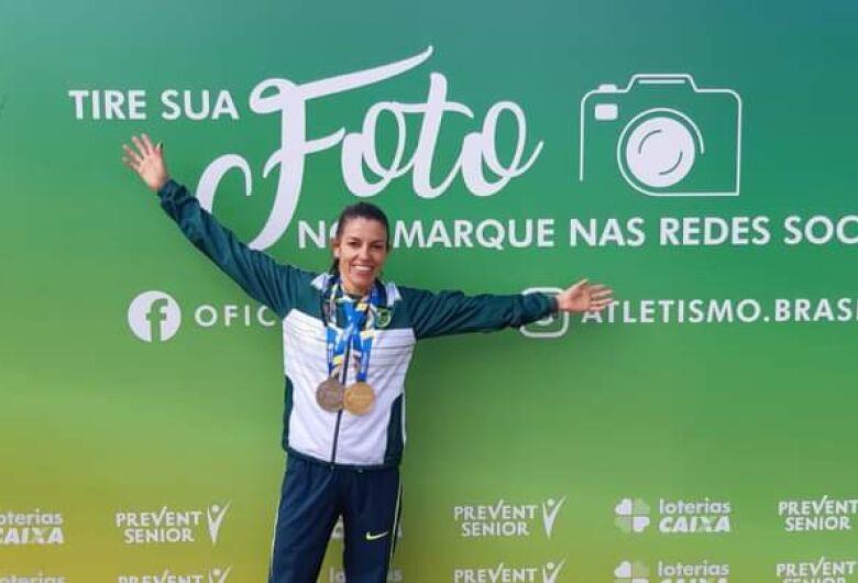 Abel e Simone garantem medalhas no Troféu Brasil de Atletismo