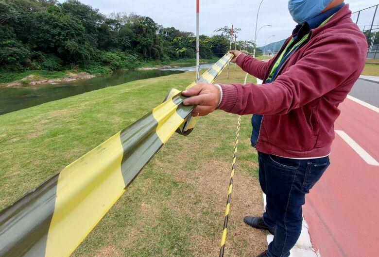 Para conter avanço da covid, áreas coletivas dos parques são interditadas em Jaraguá