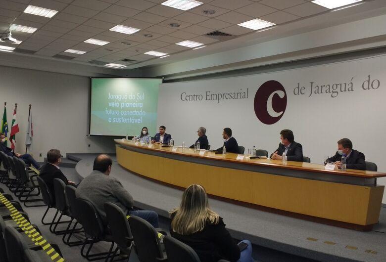 Jaraguá do Sul busca apoio para avançar em projeto inédito como cidade inteligente