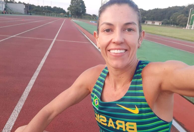 Atleta de Jaraguá manda notícias das Olimpíadas de Tóquio