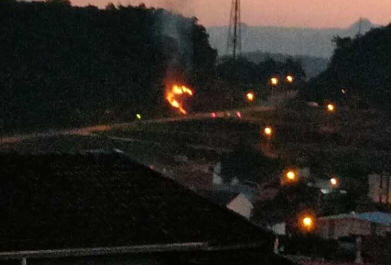 Três incêndios são registrados em Jaraguá