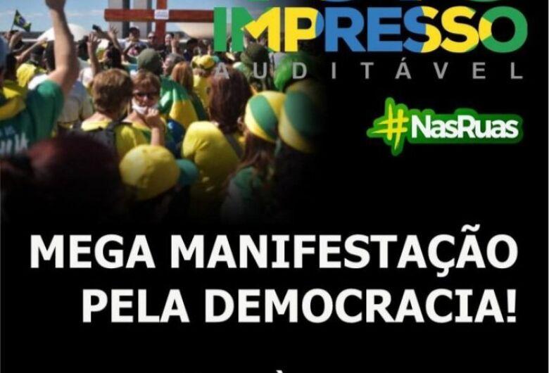 Jaraguá terá manifesto em favor do voto impresso