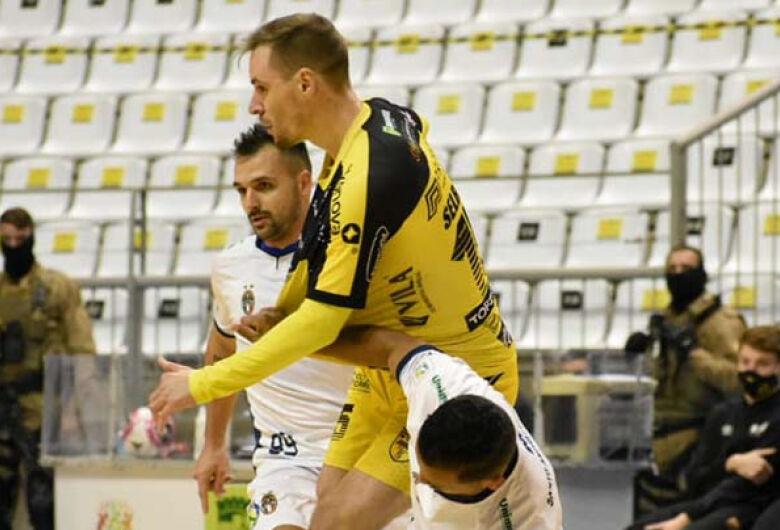 Jaraguá Futsal empata com o Santo André pela Liga
