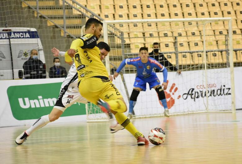 Jaraguá Futsal empata com Blumenau pelo Campeonato Catarinense