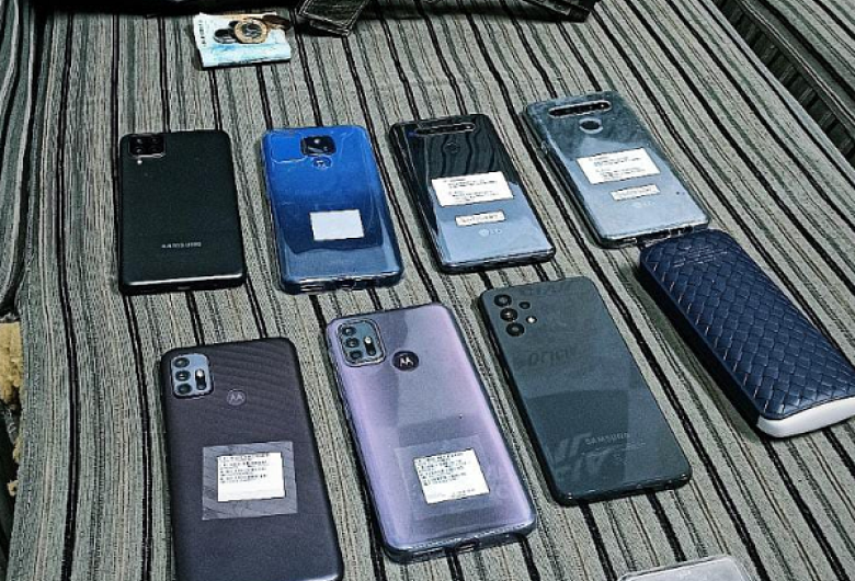 Polícia Militar revela detalhes da prisão do assaltante de loja de celulares em Jaraguá do Sul