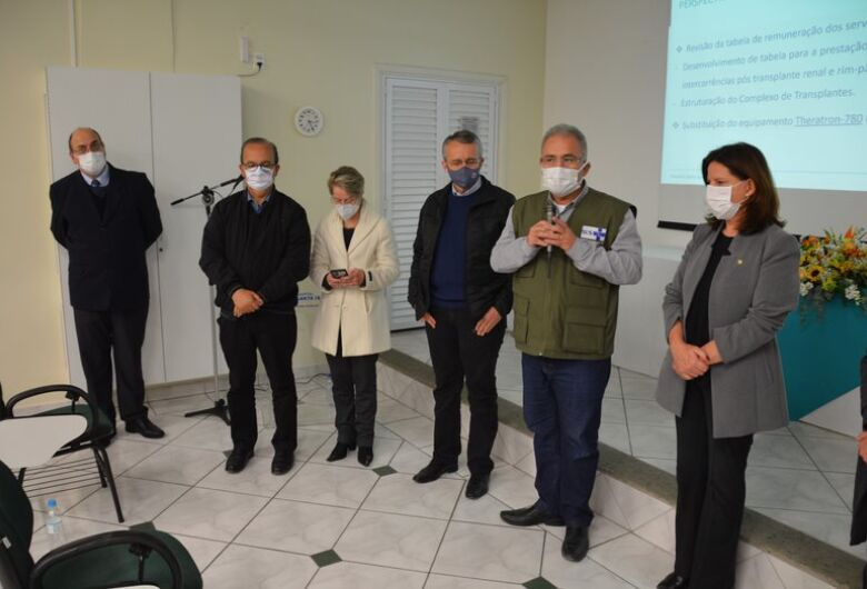 Ministro da Saúde visita Hospital Santa Isabel em Blumenau
