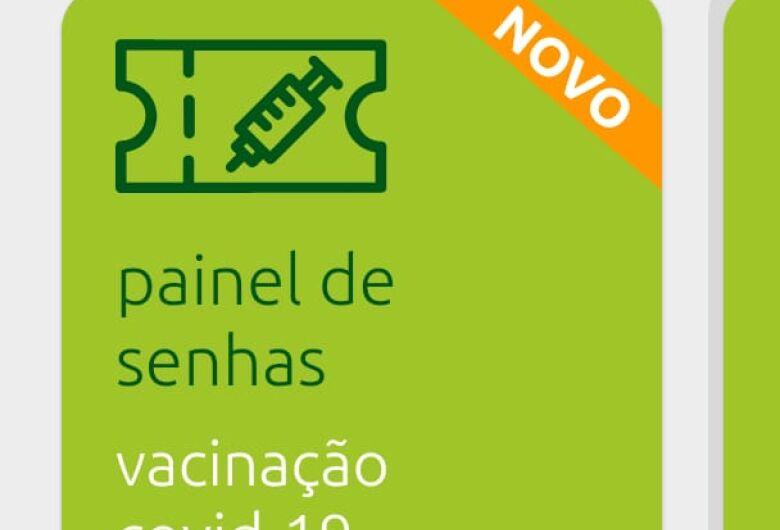 Senhas da vacinação covid podem ser acompanhadas por aplicativo em Jaraguá