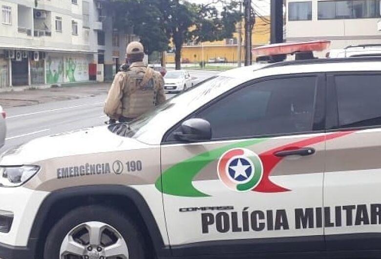 Divisão de terra termina em ameaça com facão em Guaramirim