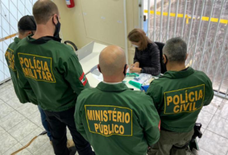 GAECO deflagra operação para combater facção criminosa em Joinville