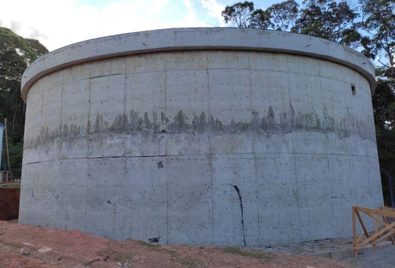 Guaramirim fará interligação da rede para novo reservatório de água