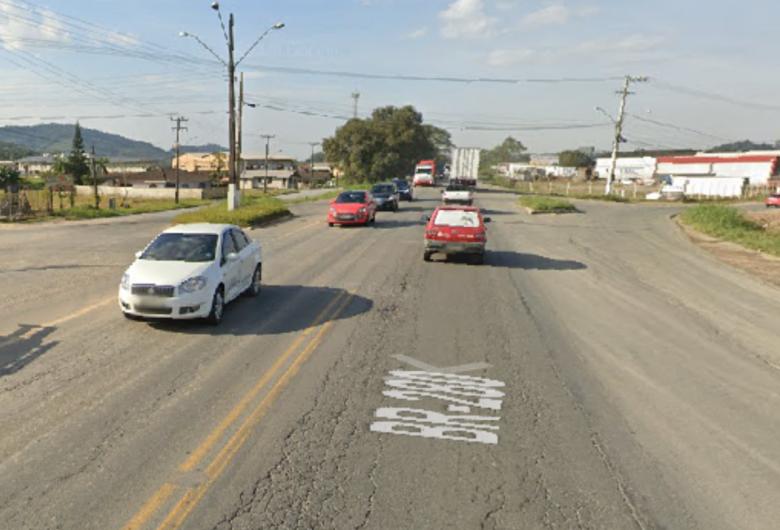 Acesso da BR-280 aos bairros Avaí e Guaramiranga será fechado