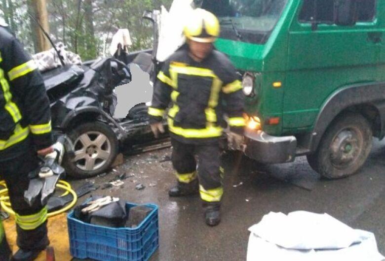 Identificado motorista de Jaraguá do Sul que morreu em acidente na BR-280