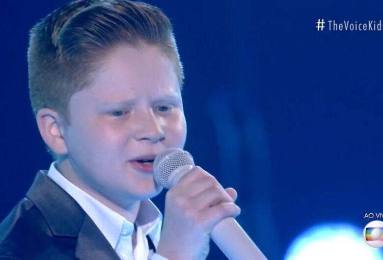 Gustavo Bardim está na final do The Voice Kids