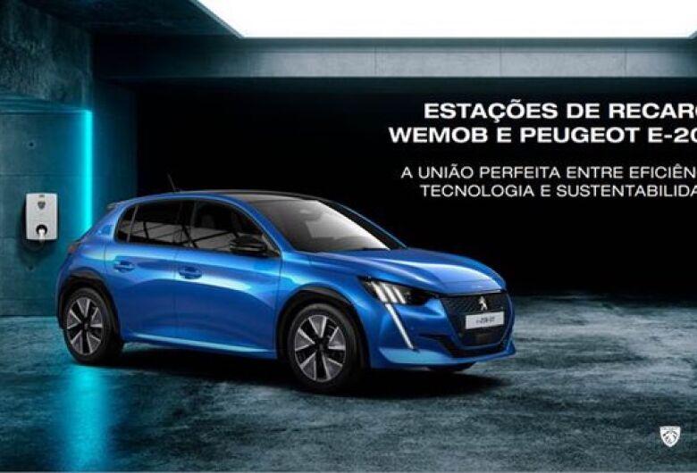 WEG anuncia parceria com a Peugeot para venda de estações de recarga para veículos elétricos