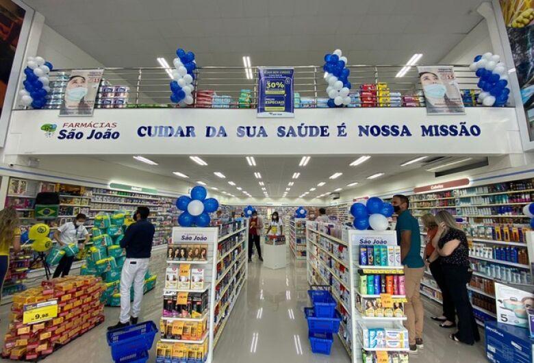 Luiz Alves ganha loja da 4ª maior rede de varejo farmacêutico do Brasil