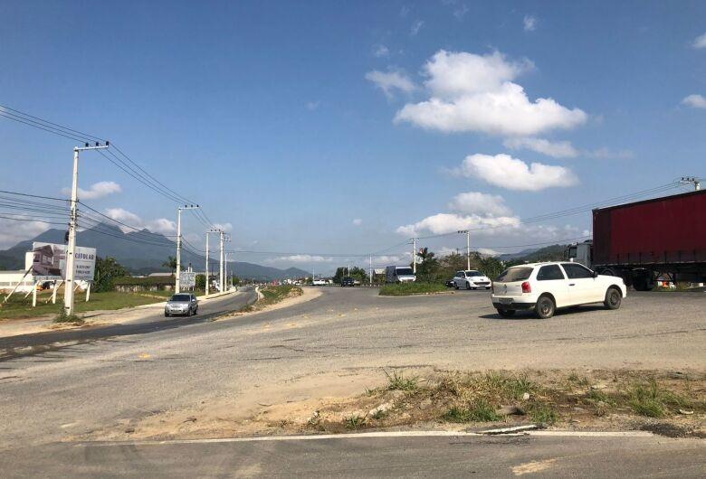 (Vídeo) Acesso da BR-280 aos bairros Avaí e Guaramiranga será fechado para obras