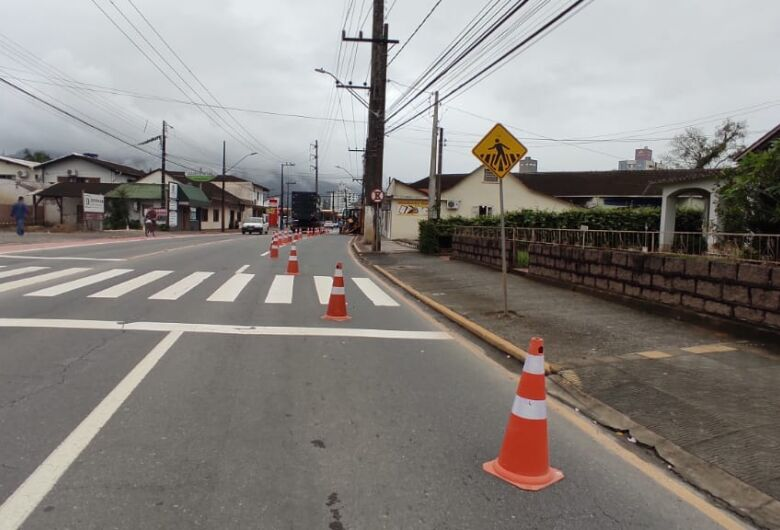 Walter Marquardt Street parzialmente bloccata