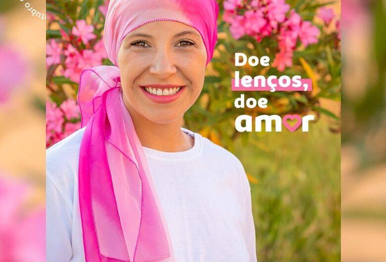 """Rotary Club Jaraguá do Sul Vale do Itapocu realiza campanha """"Doe lenços, doe amor"""""""