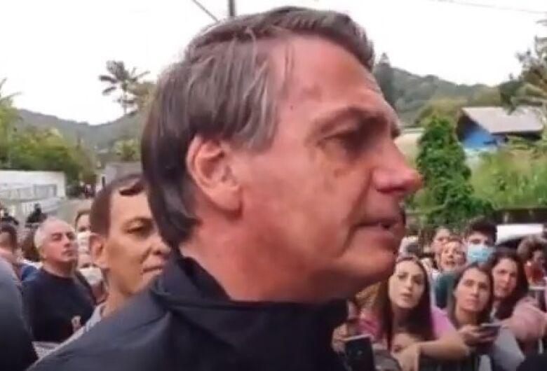 (VÍDEO) Presidente é impedido de ver jogo do Santos