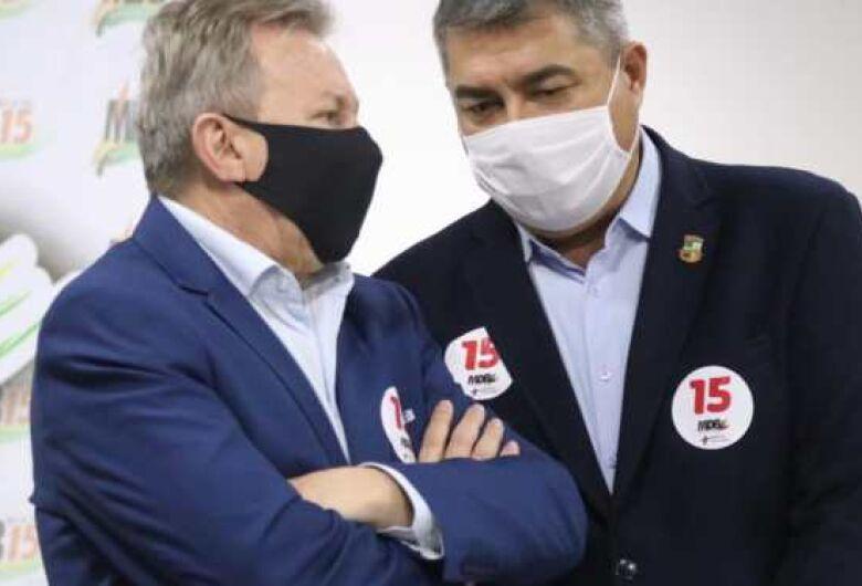 Presidente do MDB confirma acordo para candidatura de Antídio Lunelli