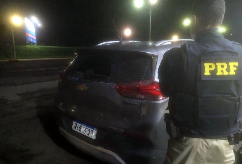 Após perseguição, carro alugado em SP e não devolvido é recuperado na BR 101