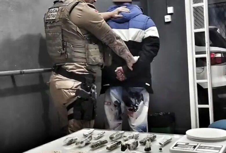 Homem que traficava a cerca de três meses em Jaraguá é preso