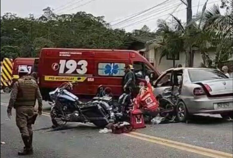 Acidente deixa um morto e dois feridos na Rodovia do Arroz