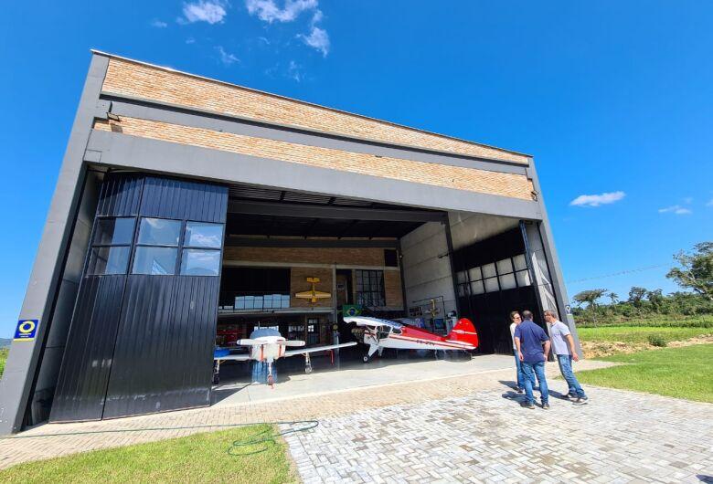 Aeropark Vale Europeu coloca Guaramirim no mapa da aviação executiva