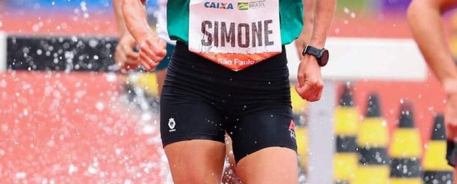 Simone Ferraz representa o Brasil no Sul-Americano de Atletismo