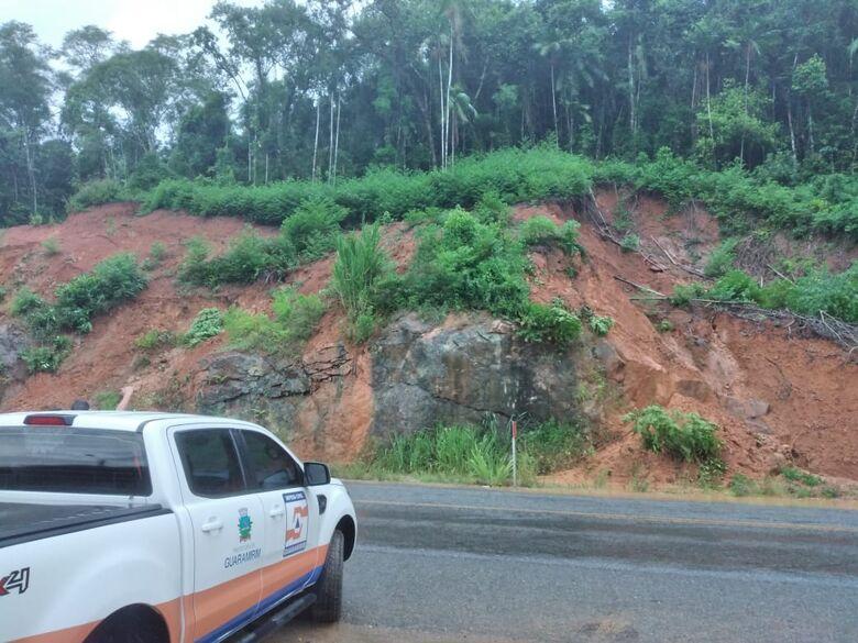 Chuva constante deixa Defesa Civil de Guaramirim em alerta  - Crédito: Divulgação