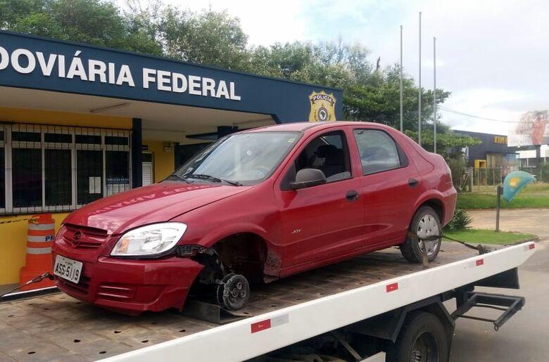 Idoso de Curitiba que estava desaparecido é encontrado em Rio do Sul - Crédito: Divulgação Polícia Rodoviária Federal