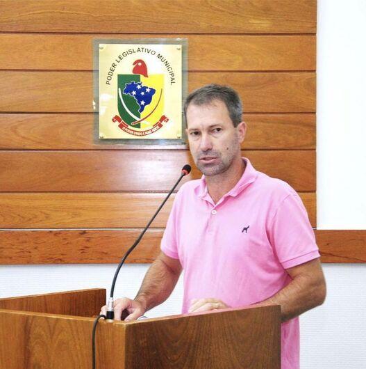 Vereador Lairton Muller, de Corupá, é eleito presidente da Avevi  - Crédito: Divulgação