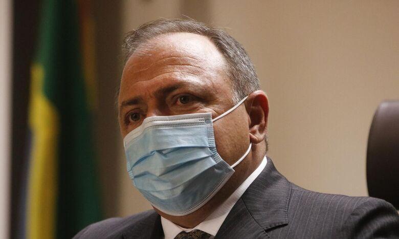 Vacinação contra covid-19 começa ainda hoje nos estados, diz Pazuello - Crédito: Tânia Rêgo / Agência Brasil