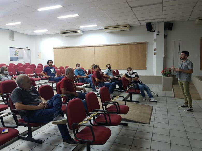 Vereadores de Guaramirim finalizam treinamento  - Crédito: Divulgação