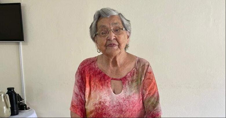 Moradora de Jaraguá, Olga Müller, completa 103 anos - Crédito: Arquivo