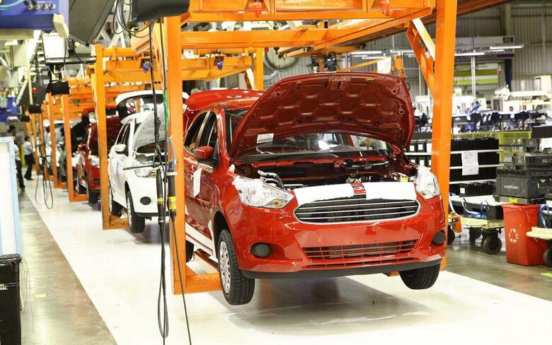 Fábrica do Ford Ka, em Camaçari  - Crédito: Divulgação
