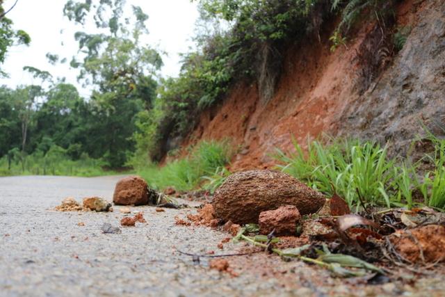 Defesa Civil mantém alerta para deslizamentos de terra em Jaraguá  - Crédito: Divulgação  Prefeitura de Jaraguá