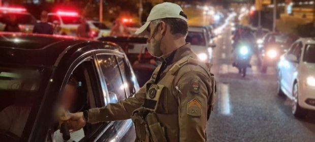 Polícia Militar Rodoviária flagrou 118 condutores embriagados no fim de semana em SC - Crédito: Divulgação / PMRv
