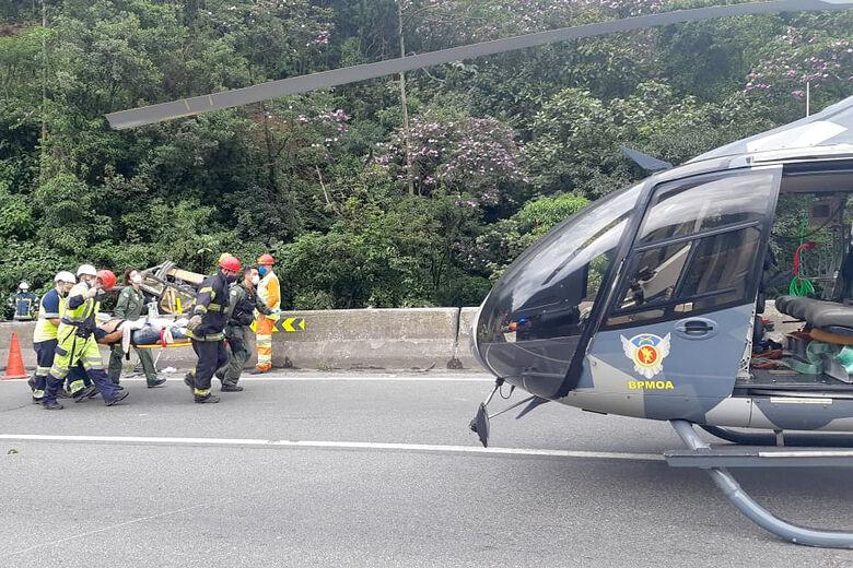 Acidente na BR-376: Comitiva de Pará deve chegar nesta tarde no Paraná  - Crédito: Divulgação SSP - Paraná