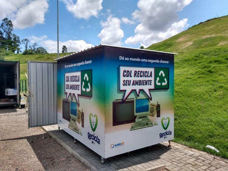 Programa Recicla CDL de Jaraguá recolheu mais de 30 toneladas de lixo eletrônico, em 2020 - Crédito: Divulgação