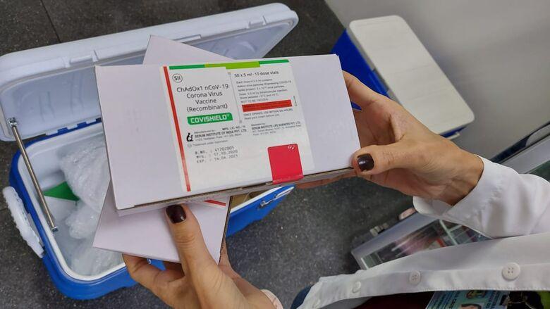 Jaraguá recebe 1.020 doses da vacina de Oxford-AstraZeneca - Crédito: Divulgação Prefeitura de Jaraguá
