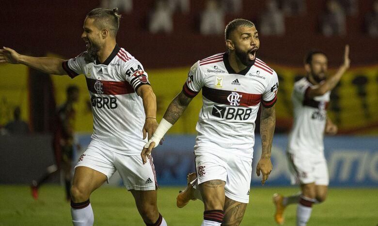 Flamengo brilha no primeiro tempo, bate Sport e segue na cola do Inter - Crédito: Alexandre Vidal / Flamengo