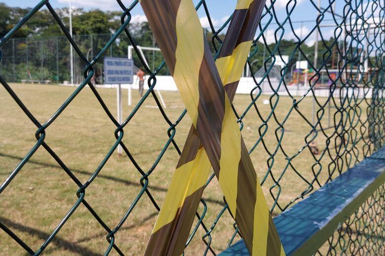 Proibida a permanência em parques de Jaraguá do Sul  - Crédito: Divulgação Prefeitura de Jaraguá