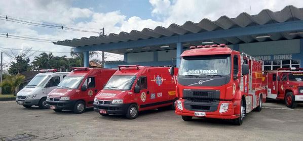 Corpo de Bombeiros de Massaranduba recebe trote sobre acidente na SC 108 - Crédito: Divulgação