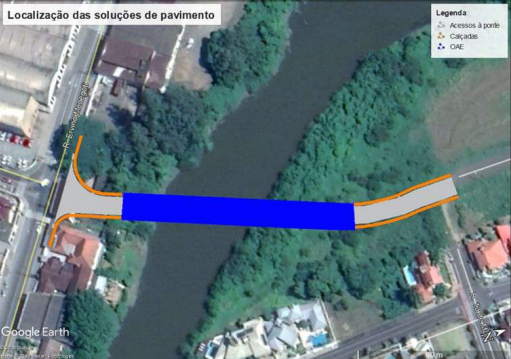 Com recurso aprovado, construção da ponte da Menegotti será licitada  - Crédito: Divulgação / PMJS